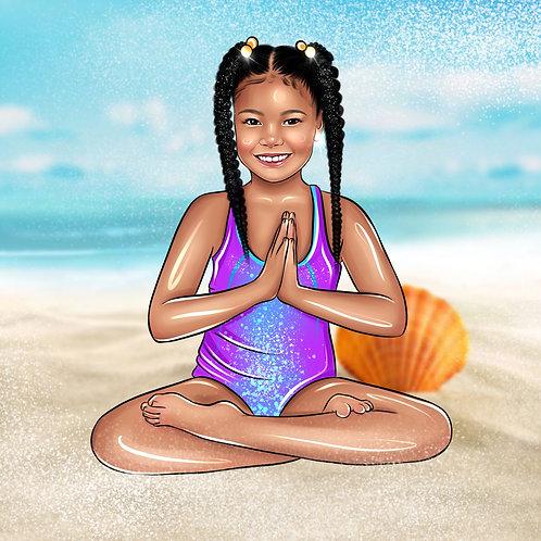 Yoga Mat - DVora Lotus