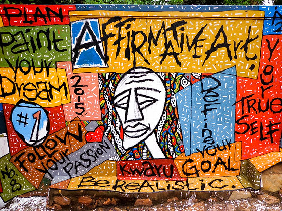 Art, Transformation, Creative vision process, art for change, affirmative art