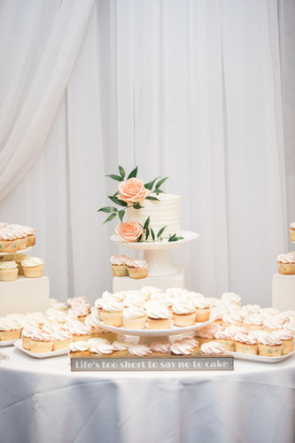 Airy Dessert Table