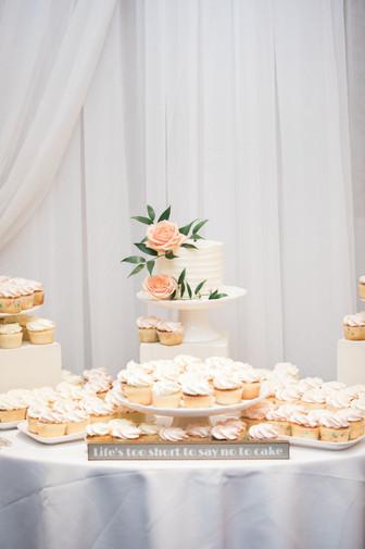 Airy Dessert Table