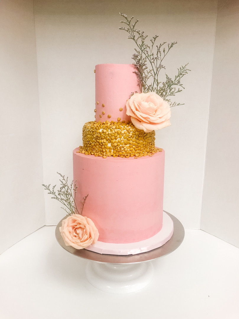 Pink Birthday Cake Vancouver Island BC