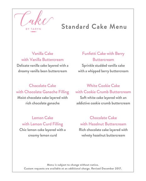 Cake By Taryn Weddings Birthdays Victoria Bc Wedding Dessert Table Menus
