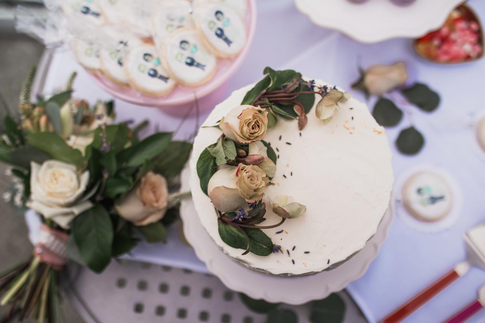 Elopement Cake