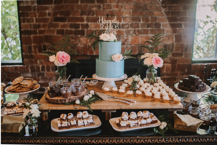 Chocolate Inspired Dessert Table