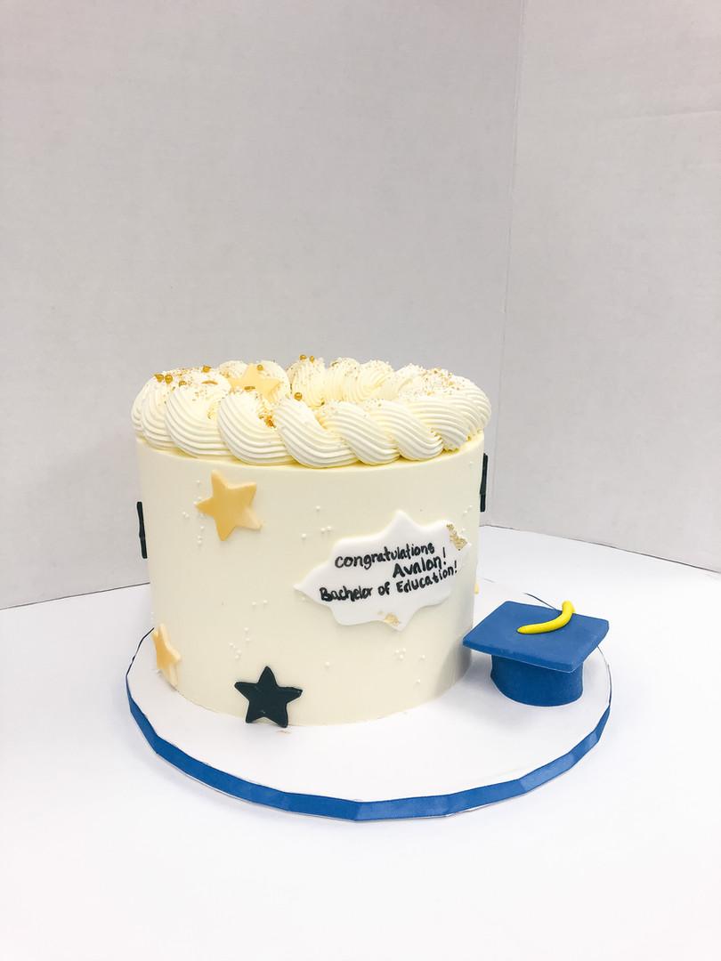 Custom Graduation Cake Victoria BC