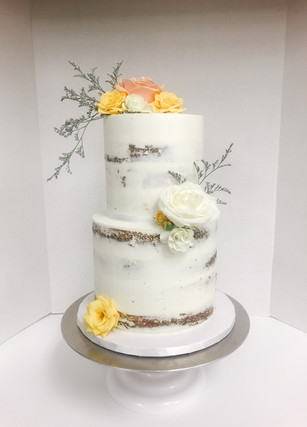 Semi-Naked Cake Vancouver Island BC