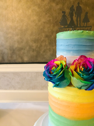 PRIDE Cake Victoria BC