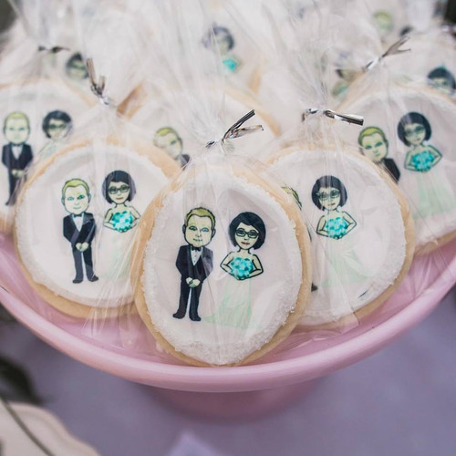 Emoji Wedding Cookies