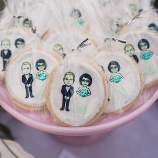 Emoji Wedding Cookies