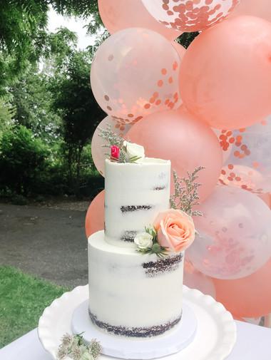 Semi-Naked Birthday Cake Victoria BC