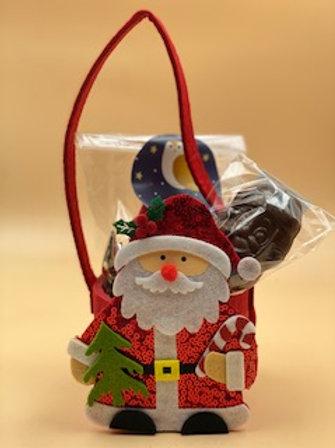Petit sac feutrine Père Noël