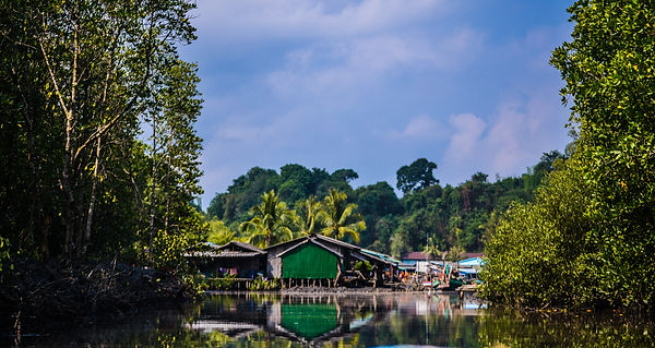 Koh Sralao Fishng Village