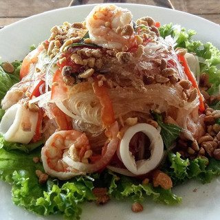 Glass Noodle Seafood Salad