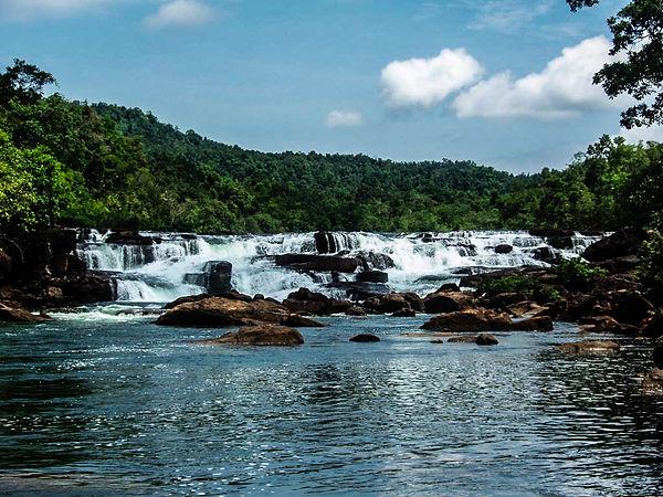Tatai Waterfalls in Koh Kong Province