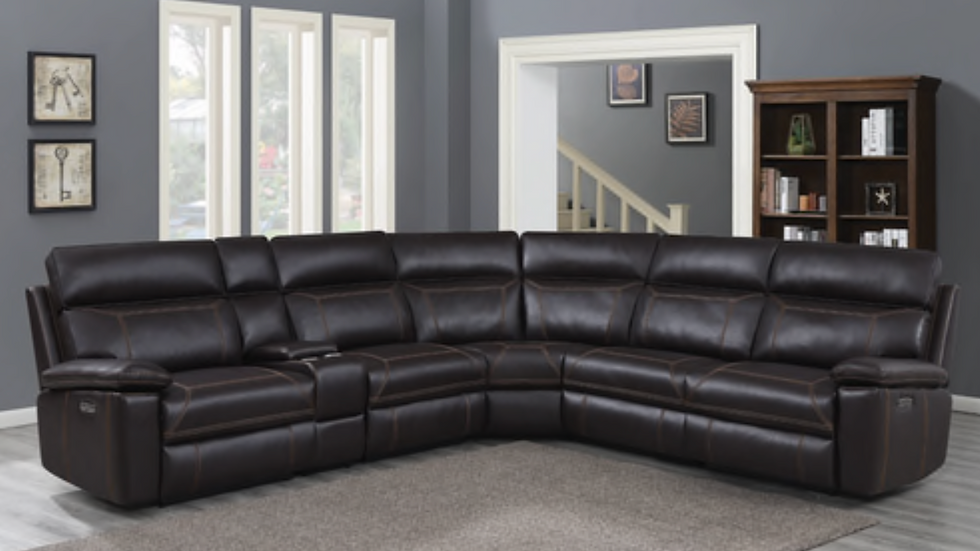 Albany 6 Piece Power Sectional