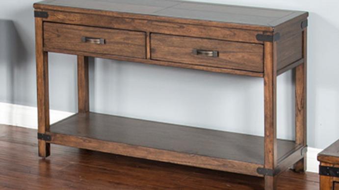 Solid Wood Mahogany Sofa Table