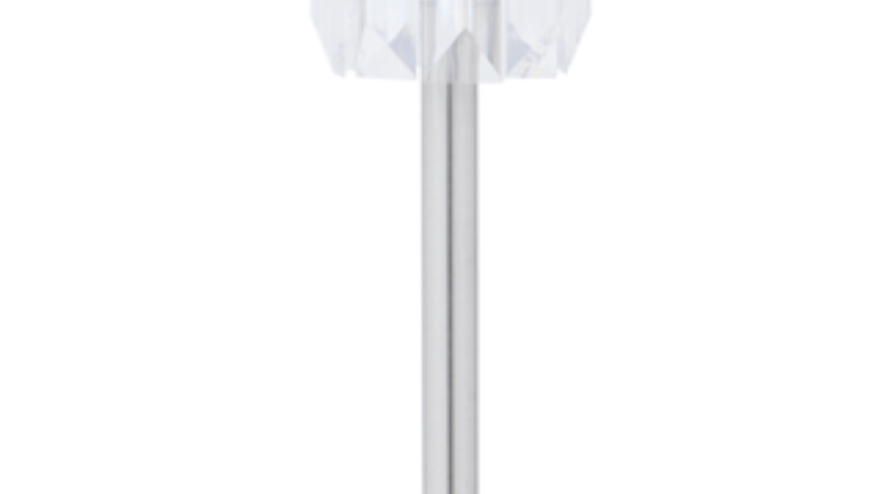 Metal Base Table Lamp Crystal
