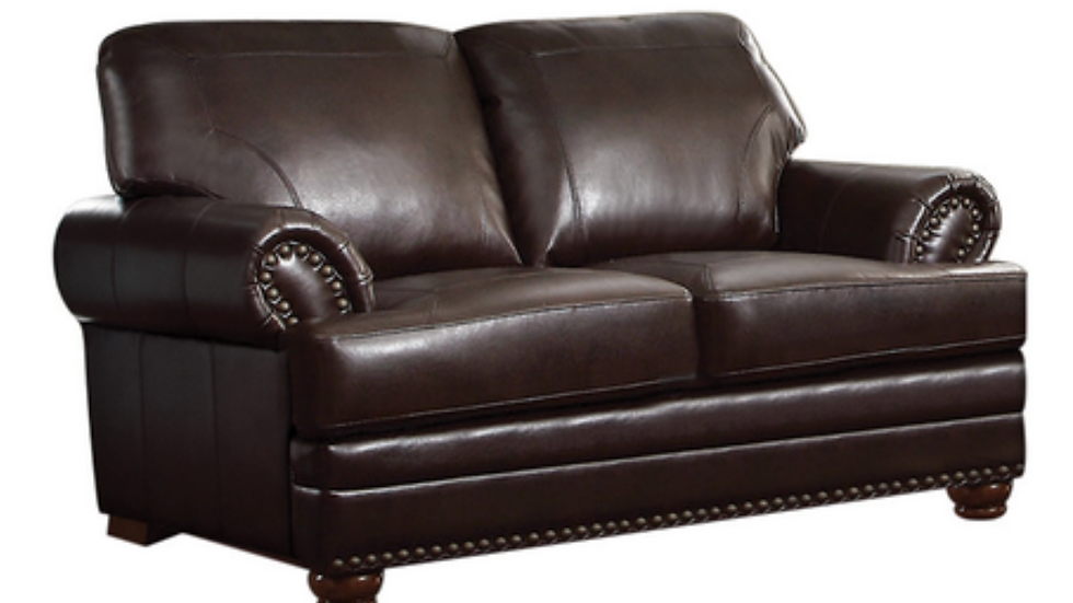 Colton Rolled Arm Upholstered Loveseat