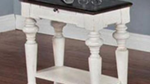 European Cottage Side Table
