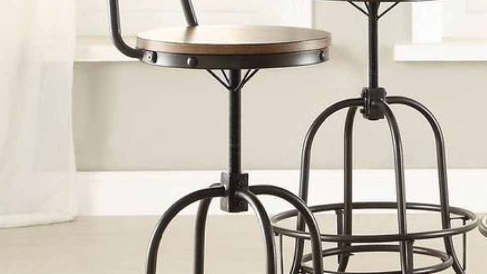 Angstrom Counter Height Chair Adjustable Height