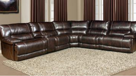 Pegasus Collection Nutmeg Sectional