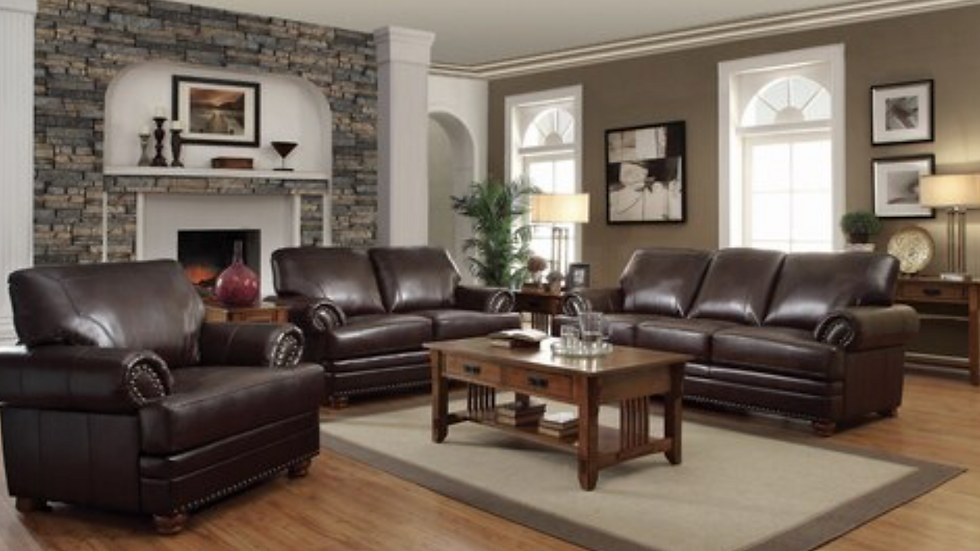 Colton Rolled Arm Upholstered Sofa