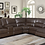 Thumbnail: Channing 6-piece Power Motion Sectional Brown