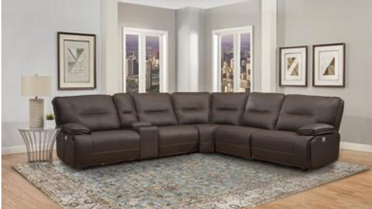 Spartacus Collection Chocolate Sectional