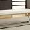 Thumbnail: Bench w/ Metal Base White and Chrome