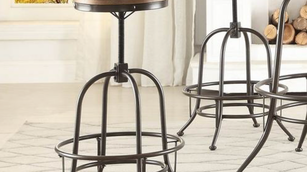 Angstrom Counter Height Stool Adjustable Height