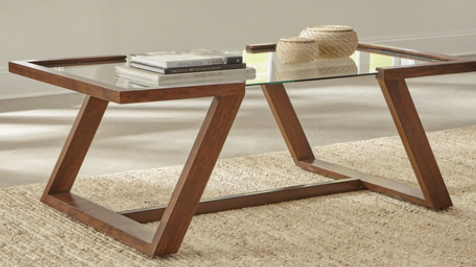 Monrovia Rectangular Coffee Table Cinnamon