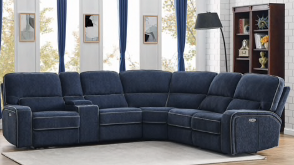 Dundee 6-piece Power Sectional
