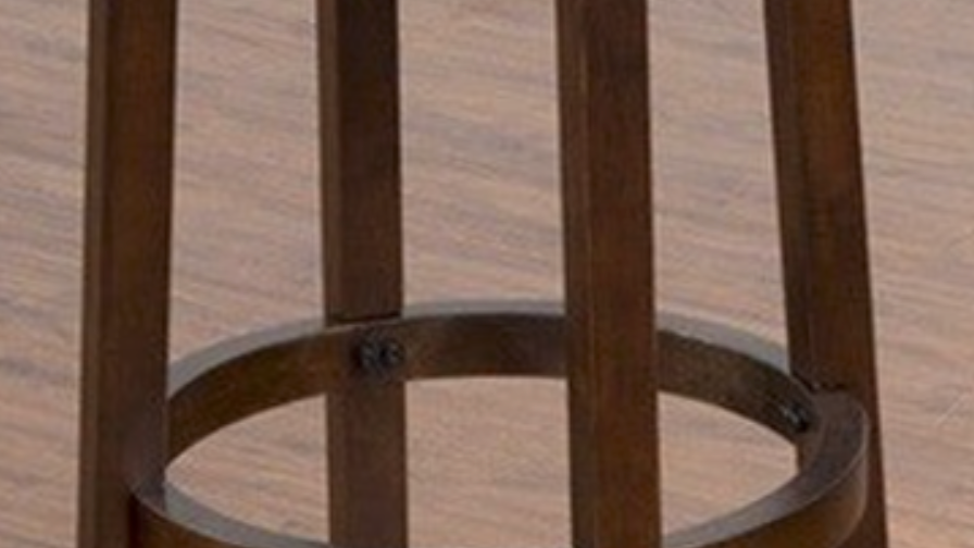 "Swivel Backless 30"" Barstool w/ Cushion Seat"