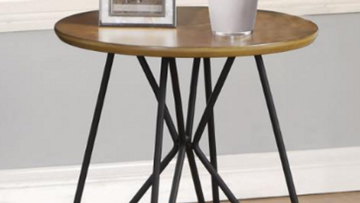 Dark Brown/Black End Table