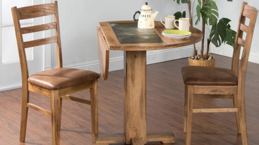 Sedona Saddleback Chair w/ Cushion Seat