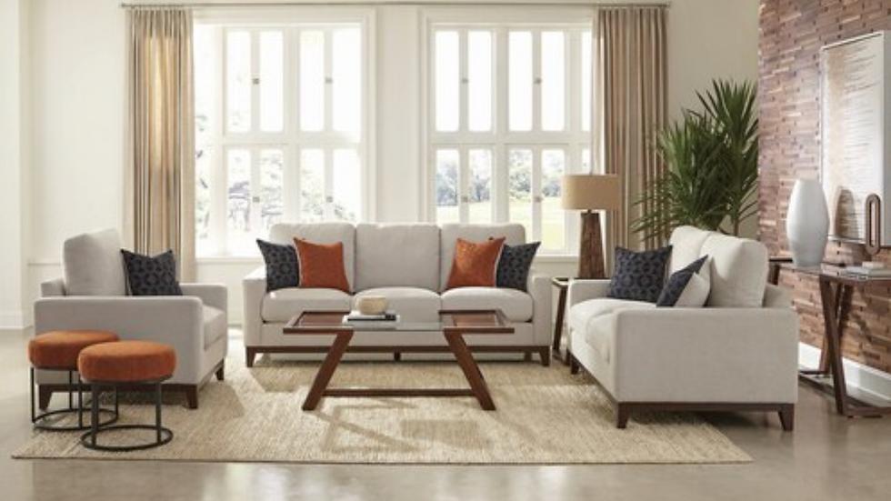 Monrovia Upholstered Track Arms Sofa