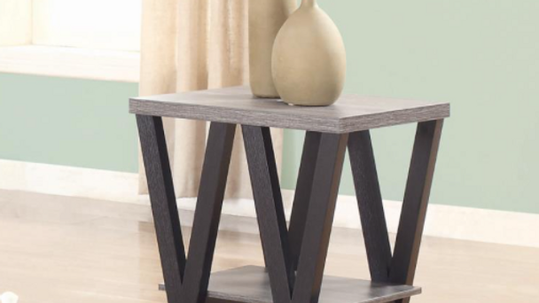End Table Black/Gray