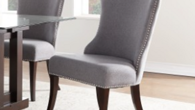 Salema Collection Gray Side Chair