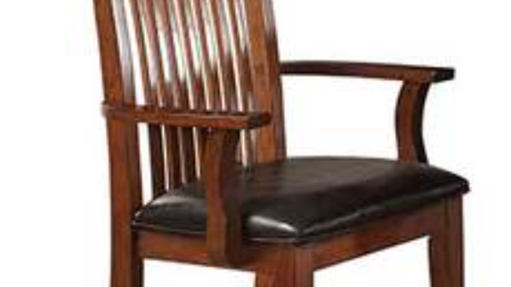 Colorado Raised Slat Back Arm Chair