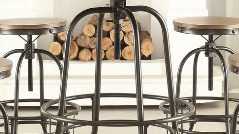 Angstrom Round Counter Height Table