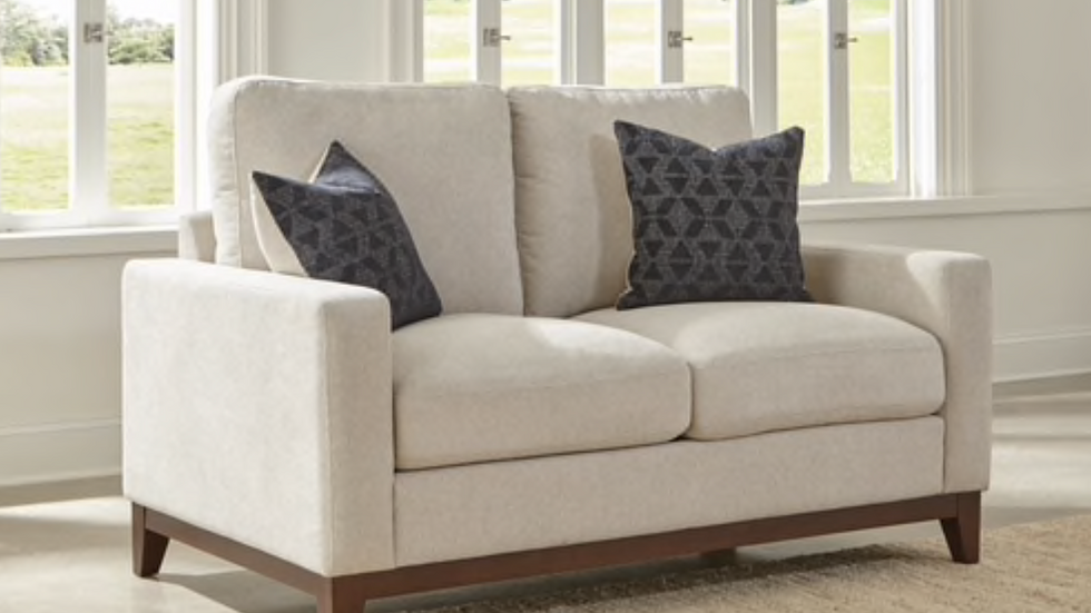 Monrovia Upholstered Track Arms Loveseat