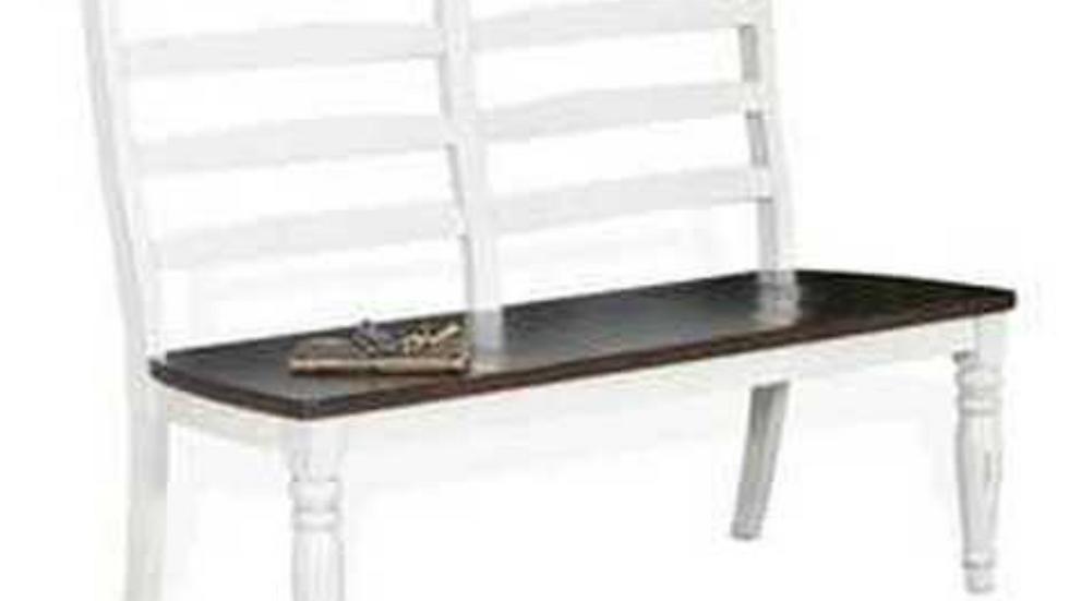 Bourbon Country Ladderback Bench w/Solid Oak Seat