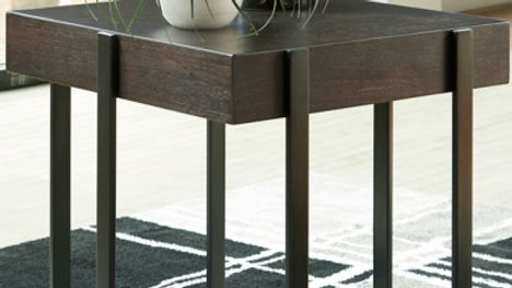Drewing Square End Table