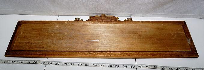 Antiquities Wooden Sign