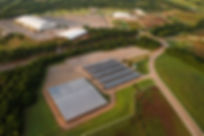 Lazy E Arena view from the sky