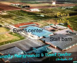Grady County Fair Grounds aerial picture