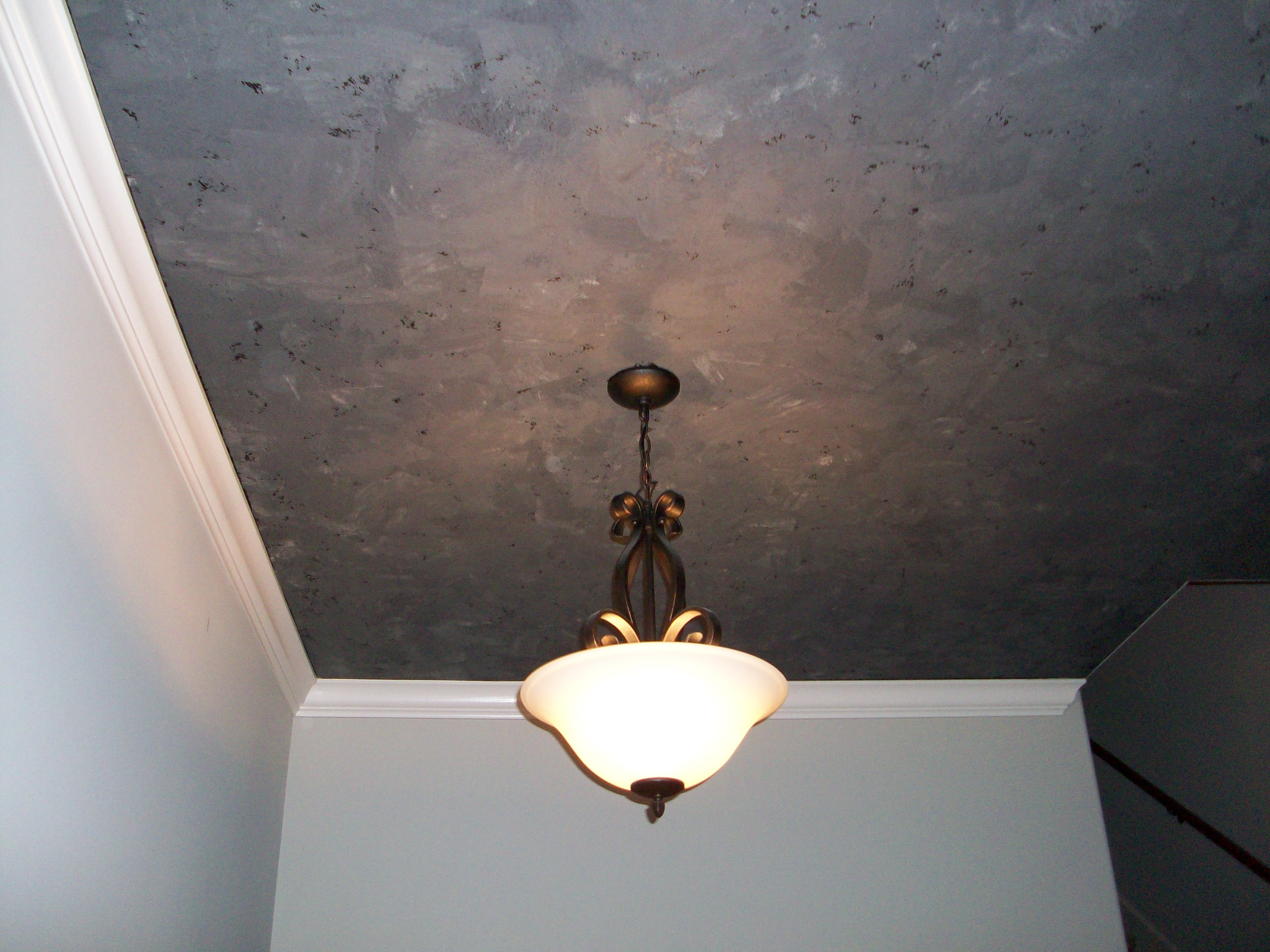 Three color venetian plaster