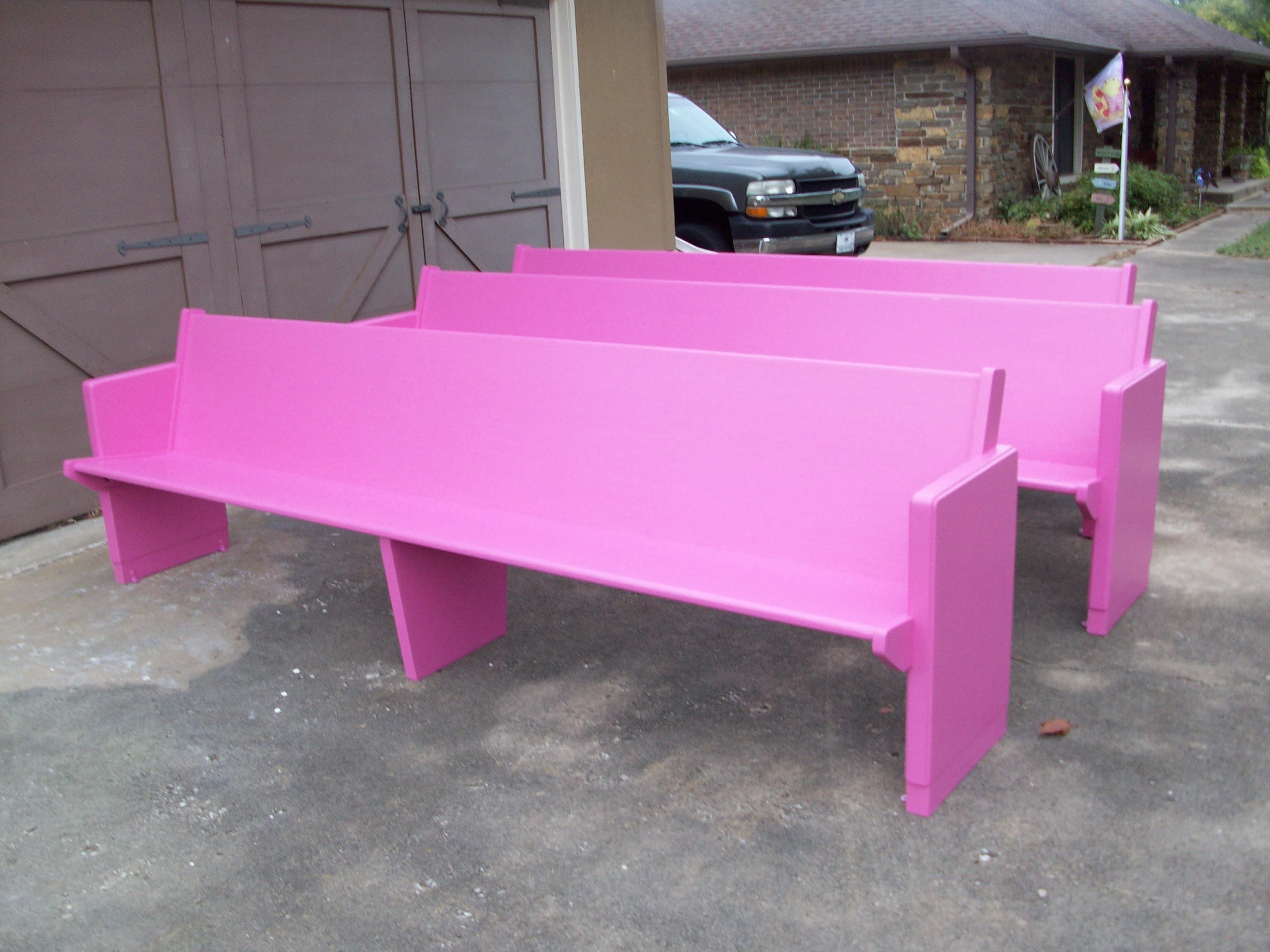 Pink Pews