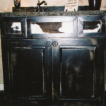 Painted and Distressed Vanity