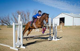 jumper and rider